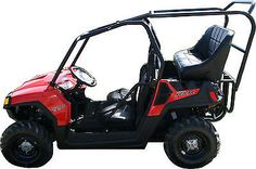 Polaris RZR 570 Back Seat and Roll Cage Kit (Kit + 2 Accessories + FREE Shipping)