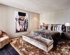 Switserland / Geneva / Private Residence / Bed Room / Cobra Art / Eric Kuster / Metropolitan Luxury