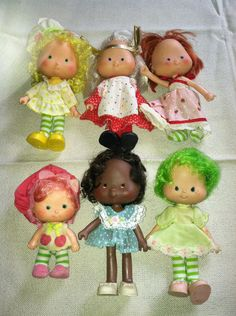 Vintage Strawberry Shortcake Doll Lot of 6 Clothing Shoes Party Pleasers 1979 | eBay