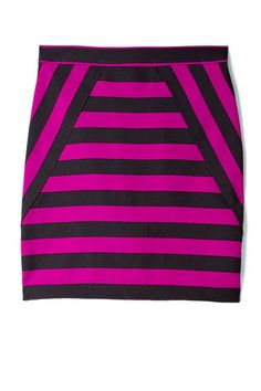 Spring Stripes to buy now  The Skirt  Marc by Marc Jacobs Scooter Stripe Skirt
