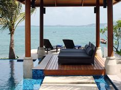 I haven't been to this particular resort in Koh Samui, Thailand but the whole island offers some amazing places to visit.