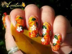 Acción de Gracias-y-Otoño-Nail Art--Designs-para-2012_02