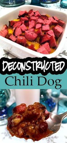 Bariatric, WLS, gastric sleeve, RNY friendly Deconstructed Chili Dog (in a bowl) Recipe!