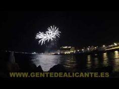 Timelapse concurso internacional de Fuegos artificiales en Playa del Pos...