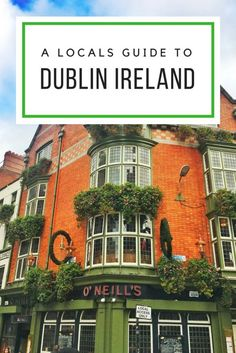 Dublin Like a Local with Expats Shay and Kurt - The Traveling Spud Europe Travel Guide, Travel Guides, Travel Destinations, Backpacking Europe, Travel Plan, Travel Goals, Dublin Ireland, Ireland Travel, Ireland Vacation