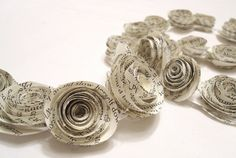 Hey, I found this really awesome Etsy listing at https://www.etsy.com/listing/127556026/paper-garland-paper-rose-garland-rose