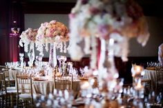 Gold and Pink Wedding Reception Theme from Carol and Glen | Gallery of Wedding