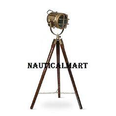 Brass Finish Antique Tripod Floor Lamp Searchlight Spotli... https://www.amazon.com/dp/B06Y2MR5MZ/ref=cm_sw_r_pi_dp_x_Wcs6yb954QM72