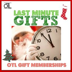 Looking for a #LastMinuteGift?  Get an OTL Insta-Gift online now in 3 minutes and Hooray . . . ALL DONE SHOPPING! You have just given the gift that gives entertainment to the ones you love all year long!  30% off of annual gift memberships (plus a 3 month bonus) on any of the following 12 OTL sites. This offer will expire on December 25th.   Cities: Atlanta, Austin, Boston, Chicago, Denver, London, Nashville, Portland, San Fran, Seattle, South Florida, Tampa Bay