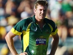 Australia's James Faulkner likely to miss World Cup start James Faulkner, Shane Watson, Miss World, Bowling, World Cup, Australia, Mens Tops, Cricket, Projects