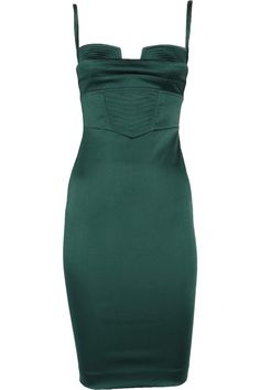 Emerald Just Cavalli bustier dress