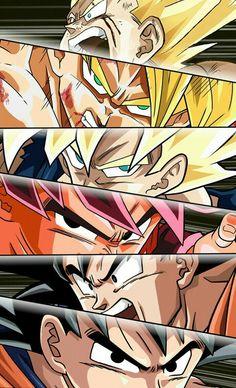 goku - dragon ball z Goku Evolution, Akira, Dragon Ball Z Shirt, Goku Wallpaper, Dragon Z, Ball Drawing, Goku Super, Anime Comics, Marvel