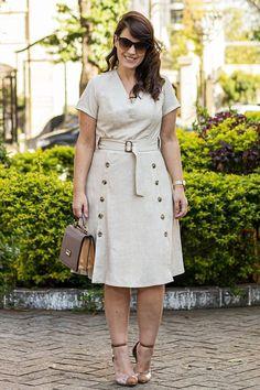 Plus Size Fashion Vestidos Plus Size, Plus Size Dresses, Plus Size Outfits, Plus Size Blog, Moda Plus Size, Lady Like, Casual Dresses, Fashion Dresses, Plus Size Formal