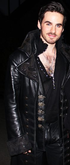 Colin O'Donoghue as Hook in Once Upon a Time. This man puts the sex in sexy.