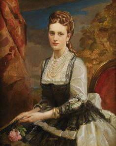 On meeting the Prince of Wales, Alexandra was quite taken with him and he was, not surprisingly, overwhelmed by her beauty