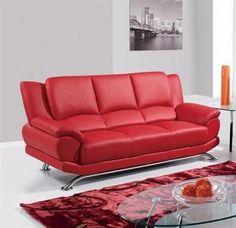 Global Furniture Sofa GL-U9908-RD-SF