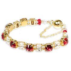 Dazzle Collection - Siam Sparkle Bracelet Kit