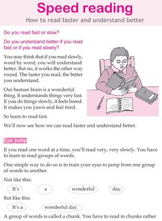 Character education and life skills grade 5 lesson 12 Speed reading 3