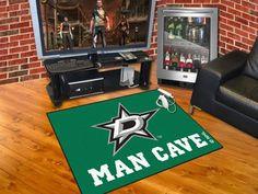 """Dallas Stars Man Cave All-Star Mat 33.75""""x42.5"""""""