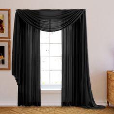Willa Arlo Interiors Brushgrove Solid Sheer Curtain Panels & Reviews | Wayfair