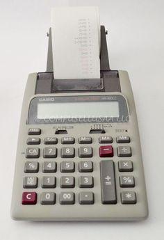 Casio HR100LC Plus Printing Business Calculator #Casio