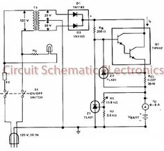 Battery charger circuit - Electronic Circuit