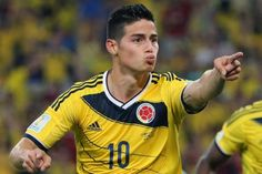 James Rodríguez: el mejor jugador del mundial #YoCreo #Colombia paso a Cuartos de Final del #MundialBrasil2014  #SelecciónColombia #Brasil2014