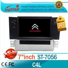 For Citroen C4 L Car dvd radio with 3G wireless 6CDC Radio bluetooth ipod SWC car board display dual zone PIP car audio system #Affiliate