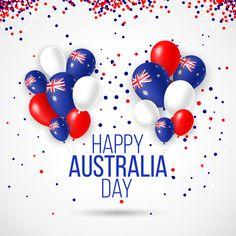 We wish you a very Happy Day! Australia Day Facts, Happy Australia Day, Aussie Food, Australian Food, Australia Day Fireworks, Australian National Anthem, Christmas Tree Gif, Australia Day Celebrations, Birthday Wishes