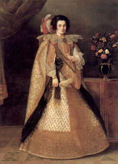 Portrait of a lady by a follower of Juan Pantoja de la Cruz, early 17th century
