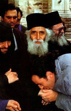 Along to Saint Apostles Peter and Paul, today we celebrate Saint Elder Paisios the Athonite. May their prayers be with us sinners, so that God has mercy upon us! Amen. +