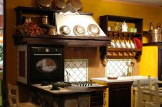 cucina rustica - Google Search | Ideas for Kitchen | Pinterest ...