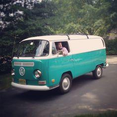 """Tiptoethrough: Meet Our """"New"""" Vw Van..."""