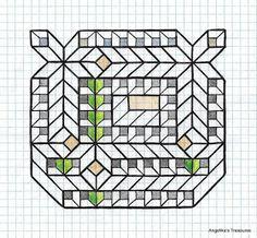 # Graph Paper Art , # Angelika's Treasures # Own design ! Graph Paper Drawings, Graph Paper Art, Grafic Art, Geometric Drawing, Art Journals, Doodle Art, Quilt Patterns, Doodles, Quilts