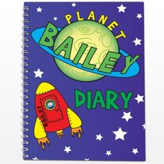 Personalised Space Diary  from Personalised Gifts Shop - ONLY £7.99