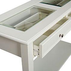 seashell collection coffee table | shell, box and display