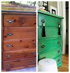 """So if you remember, we found a boat load of furniture that was """"garbage"""" { post here }. Well a few of the pieces are in the middle of some pretty ama"""