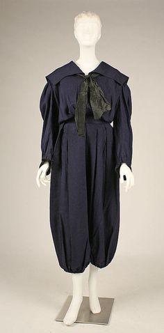 Gym suit    1898    The Metropolitan Museum of Art