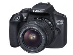 Canon Rebel T6 1300D DSLR Camera 18-55mm f/3.5-5.6 IS II Lens  Free 8gb SD Card
