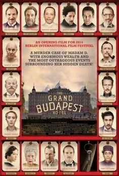 TJE Grand Budapest Hotel, Wes Anderson 2014