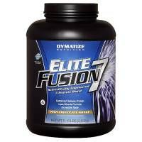 DYMATIZE Elite Fusion 7 - jeden z najlepszych mixów białkowych, który jest chętnie stosowany przez sportowców. Skutecznie przyspiesza przyrost mięśni. #dymatize #nutrition #sport #fitness #fit