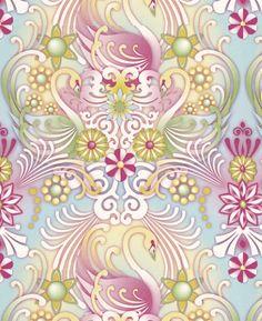 Paper Moon Wallpaper – Catalina Estrada Collection – Cosne  http://www.wowwallpaperhanging.com.au/buy-wallpaper-online/