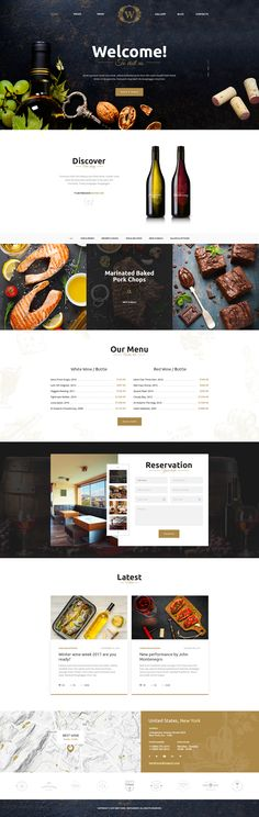 Best Wine - Wine and Winery PSD Template #store #template #web • Download ➝ https://themeforest.net/item/best-wine-wine-and-winery-psd-template/19545544?ref=pxcr
