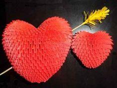Объемное сердечко