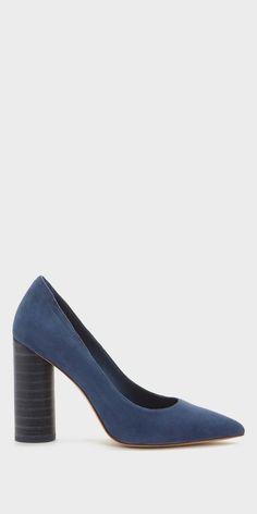 Slip into a pair of blue suede shoes with the Pour La Victoire Cece Pumps.