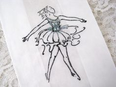 BALLET DANCER - BALLERINA - Glassine Favor Bags - Gift Bags - Paris - Wedding - Bridal Shower - Birthday - Party - Glitter. $7.50, via Etsy.