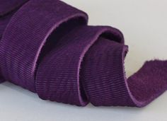 7-10mm Purple Genuine Leather Strap, 1 Yard by JLLeatherSupplies on Etsy