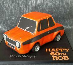 Ford Escort Mexico Mk 1 car cake