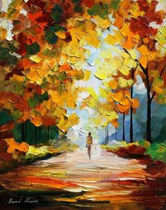 October Painting-Leonid Afremov
