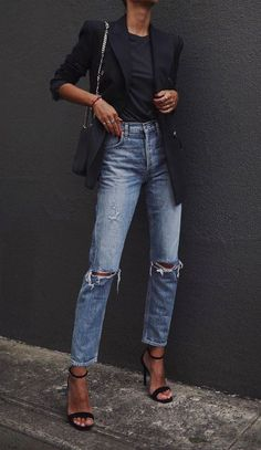 trendy outfits for women ~ trendy outfits . trendy outfits for summer . trendy outfits for school . trendy outfits for women . Moda Outfits, Trendy Outfits, Cute Outfits, Fashion Outfits, Womens Fashion, Fashion Tips, Fashion Ideas, Fashion Blogger Style, Fashion Quotes